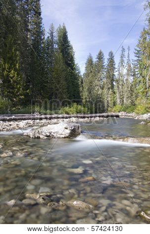 Cle Elum River, Okanogan-wenatchee National Forest, WA USA