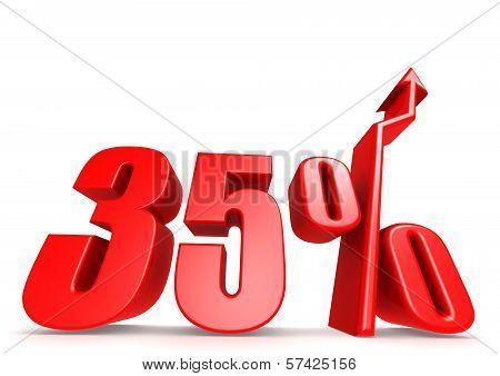 Up 35 percent