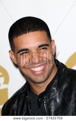 Drake at the 52nd Annual Grammy Awards, Press Room, Staples Center, Los Angeles, CA. 01-31-10