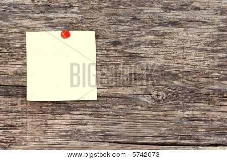 Note On Wood