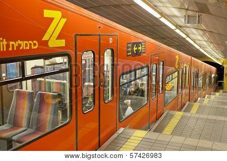 Carmelit Haifa underground