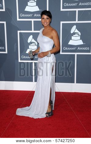 Toni Braxton at the 52nd Annual Grammy Awards - Arrivals, Staples Center, Los Angeles, CA. 01-31-10