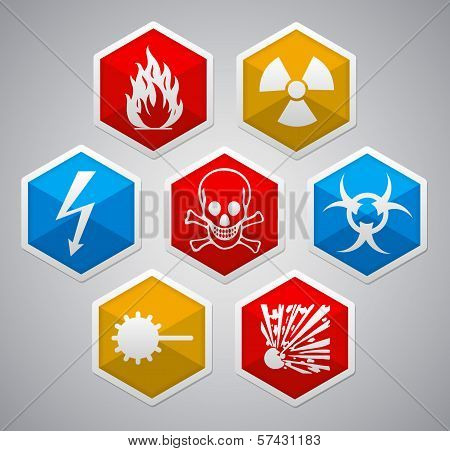 Danger Hexagon Icon