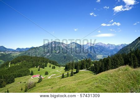 Alpine Meadow Allgau Germany