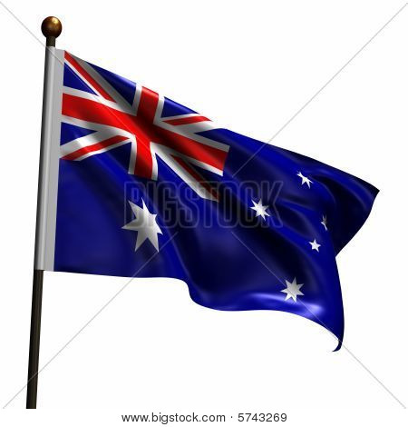 High Resolution Flag Of Australia