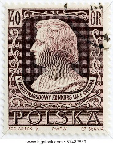 Chopin Stamp