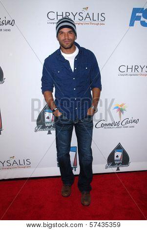 Amaury Nolasco at the World Poker Tour Celebrity Invitational Tournament, Commerce Casino, Commerce, CA. 02-20-10
