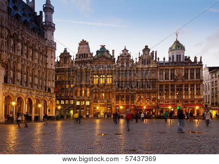 Grote Markt Town Square, Brusseles