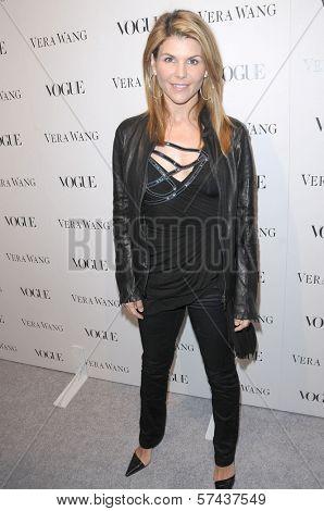 Lori Loughlin at a Vogue Dinner Honoring Vera Wang, Vera Wang Store, Los Angeles, CA. 03-02-10