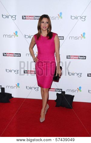 Eva Longoria Parker at the Hollywood Reporter's Nominee's Night at the Mayor's Residence, presented by Bing and MSN, Private Location, Los Angeles, CA. 03-04-10