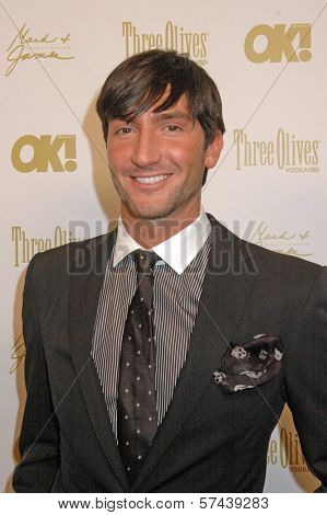 Evan Lysacek at the OK Magazine Pre-Oscar Party, Beso, Hollywood, CA. 03-05-10