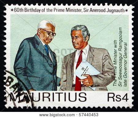 Postage Stamp Mauritius 1990 Prime Minister Jugnauth