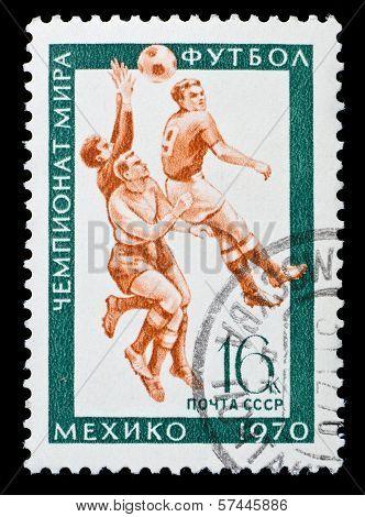 Ussr Stamp Football Championship