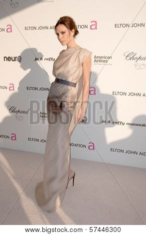 Victoria Beckham  at the 18th Annual Elton John AIDS Foundation Oscar Viewing Party, Pacific Design Center, West Hollywood, CA. 03-07-10