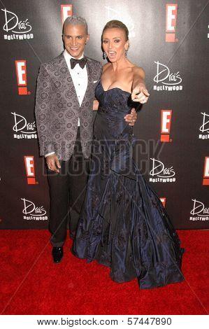 Jai Rodriguez and Giuliana Rancic  at the E! Oscar Viewing and After Party, Drai's, Hollywood, CA. 04-07-10