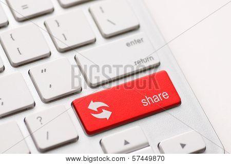 Share Button Key