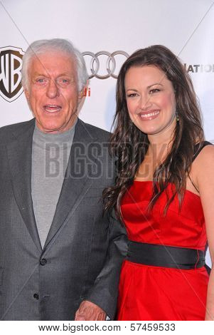 Dick Van Dyke and Ashley Brown  at the Geffen Playhouses Annual Fundraiser