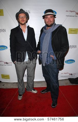 Paul De Sousa and Rainer Lipski at the 6th Annual Los Angeles Women's Int'l Film Festival Opening Night Benefit Screening of