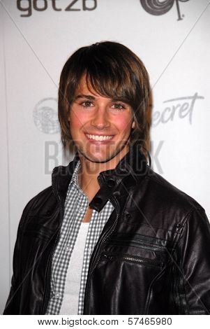 James Maslow at the Star Magazine Celebrates Young Hollywood Party, Voyeur, West Hollywood, CA. 03-31-10