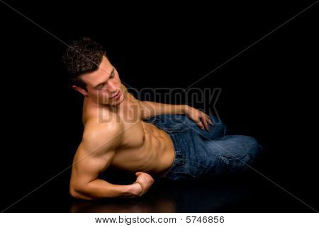Body Builder, Artistic Pose