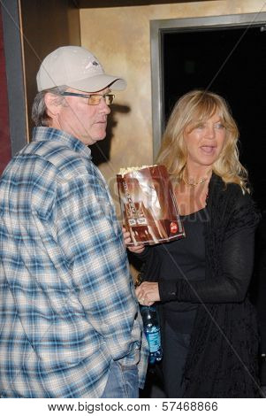 Kurt Russell and Goldie Hawn  at the Los Angeles Premiere for