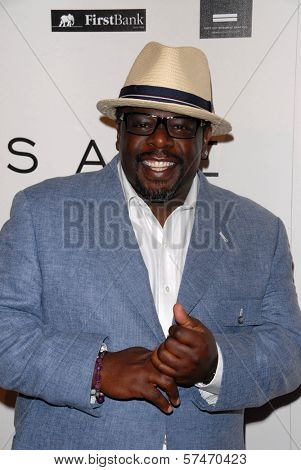 Cedric the Entertainer at the introduction of the Chris ire