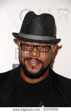 Rockmond Dunbar at the introduction of the Chris ire