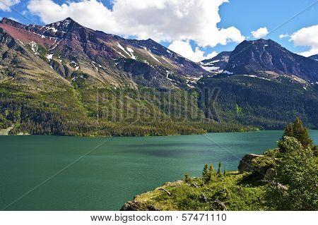 Scenic Montana Lake
