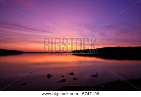 Crabtree Lake Sunset