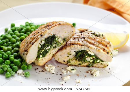 Chicken Breasts Stuffed With Spinach And Feta