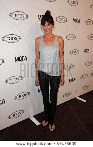 Lisa Linde at the Tod's Beverly Hills Boutique Opening Celebration, Tod's Boutique, Beverly Hills, CA. 04-15-10