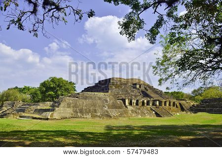 Mayan archaeological site