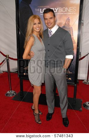 Antonio Sabato Jr. and Cheryl Moana Marie at the Los Angeles Premiere of