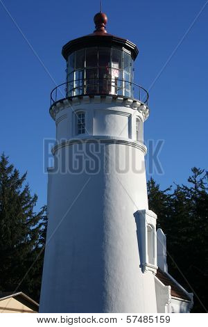 Umpqua Lighthouse on Oregon Coast