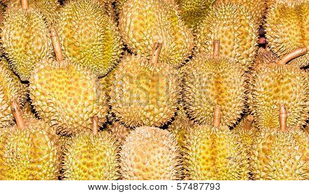 Pile Of Durian