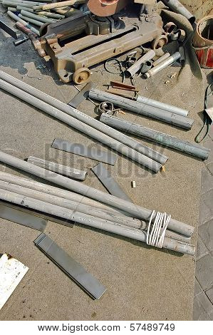 Processing Of Steel Bar