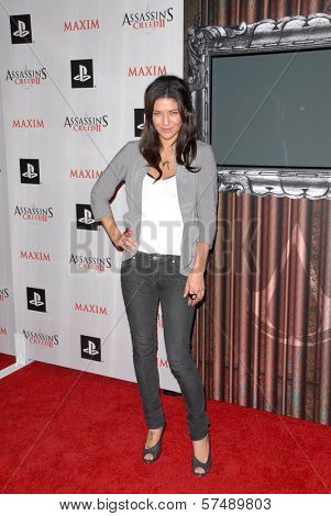 Jessica Szohr at the MAXIM magazine and Ubisoft launch of Assassin's Creed II, Voyeur, West Hollywood, CA. 11-11-09