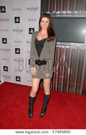 April Rose at the MAXIM magazine and Ubisoft launch of Assassin's Creed II, Voyeur, West Hollywood, CA. 11-11-09