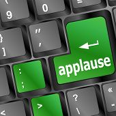 foto of applause  - business concept - JPG