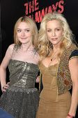 Dakota Fanning and Cherie Currie  at