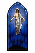 picture of risen  - Vector illustration of the Resurrected Jesus Christ - JPG