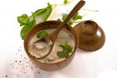 picture of gai  - Tom Ka Gai thai coconut chicken soup - JPG