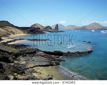 Bartolome Island, Galapagos.
