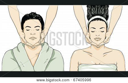 Massage Vector - Man/Woman
