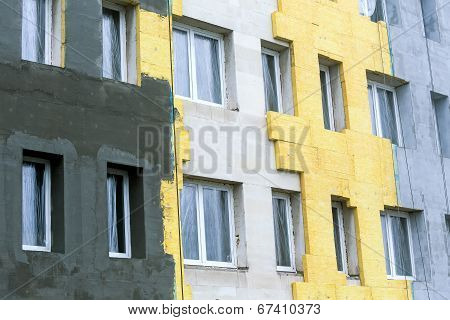 Thermal Protection Of Building Facade
