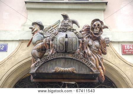 Prague. Puppets Marionette Theatre