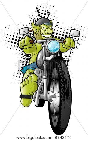 Motorcycle Gang Troll