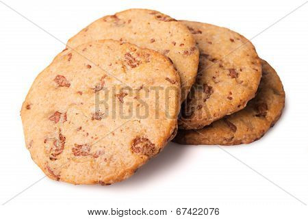 Chocolate pastry biscuits