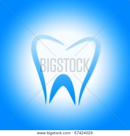 Tooth Icon Represents Dentist Icons And Root