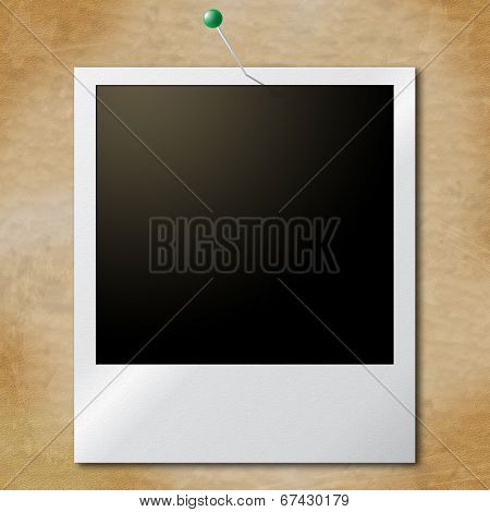 Photo Frames Represents Blank Space And Copy-space